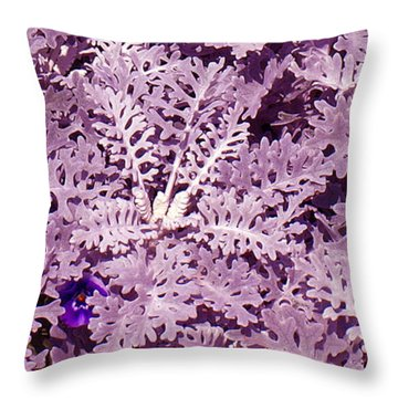 Hide-n-seek Throw Pillow