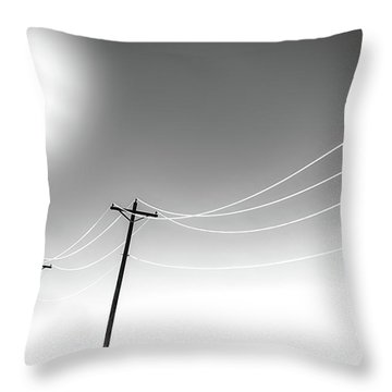 High Tension Heat Throw Pillow