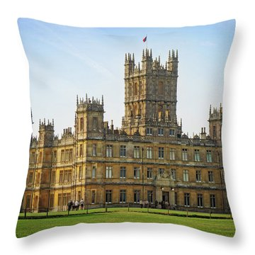 Highclere Castle Throw Pillow
