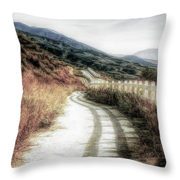 Highland Ranch Hike Throw Pillow