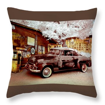 Highsmith Old Car Throw Pillow