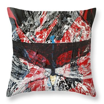 His Fiery Darkness Is Free Throw Pillow