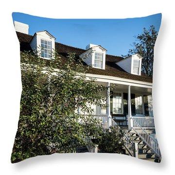 Historic Meadow Garden Augusta Ga Throw Pillow