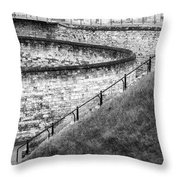 Lincoln Castle Throw Pillow