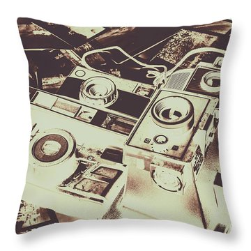 Developing Throw Pillows