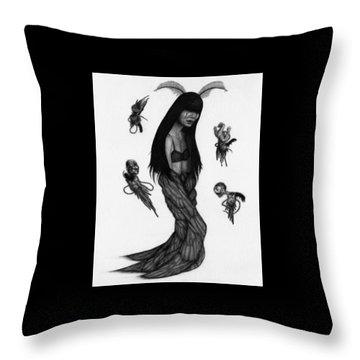 Hitome Miyamoto - Artwork Throw Pillow