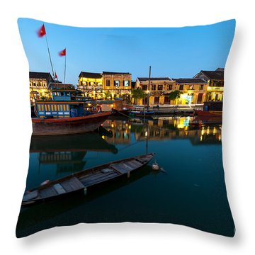 Channel Throw Pillows
