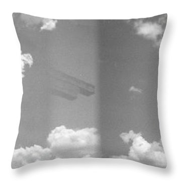 Holga Triptych 5 Throw Pillow