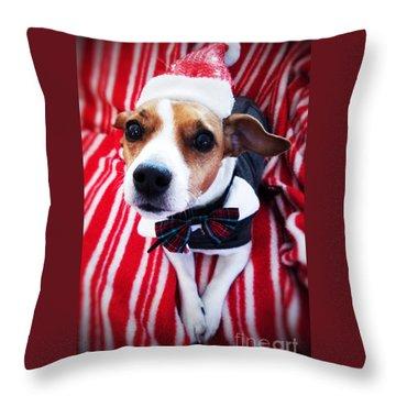 Holiday Jack Throw Pillow