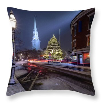 Holiday Magic, Market Square Throw Pillow