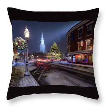 Holiday Magic, Market Square Throw Pillow