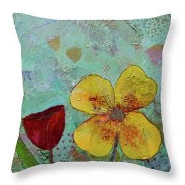 Holland Tulip Festival Iv Throw Pillow