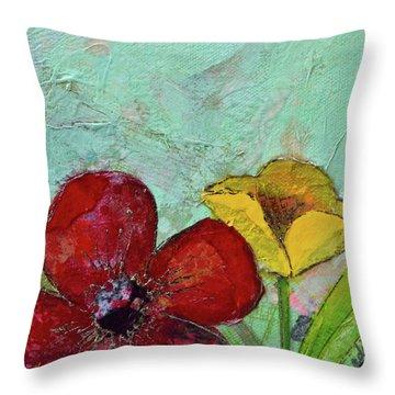 Holland Tulip Festival Vi  Throw Pillow