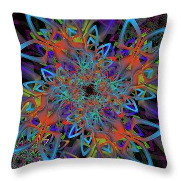 Hologram Complex Throw Pillow