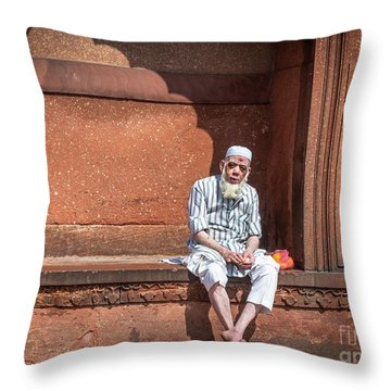 Holy Man Throw Pillow