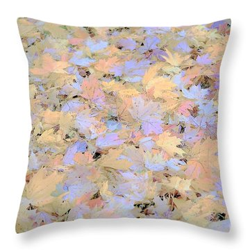 Home Leaves3 Throw Pillow