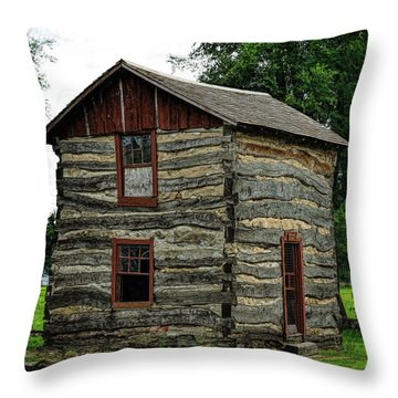 Throw Pillow featuring the photograph Home On The Range by Jon Burch Photography