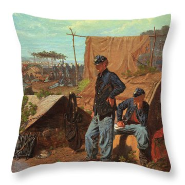 Home, Sweet Home - Digital Remastered Edition Throw Pillow