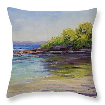 Honeymoon Bay  Throw Pillow