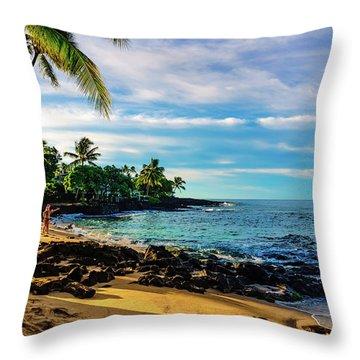Honl Beach Throw Pillow