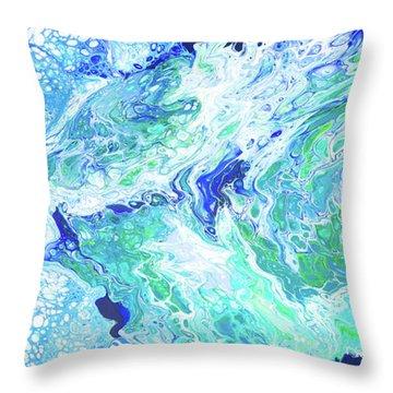 Ho'okipa Beach Throw Pillow