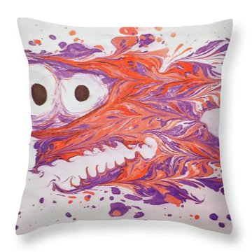 Horace On The Night Shift  Throw Pillow