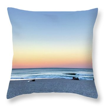 Horizon Over Water Throw Pillow