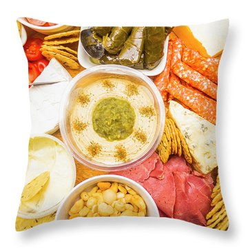 Hors D'oeuvre Throw Pillow