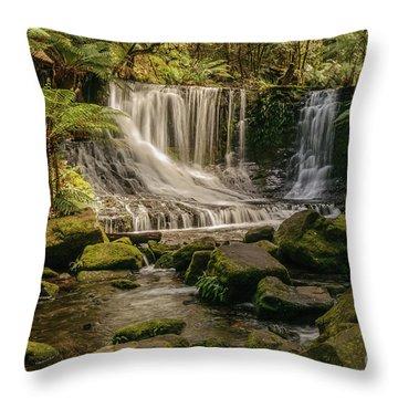 Horseshoe Falls 01 Throw Pillow