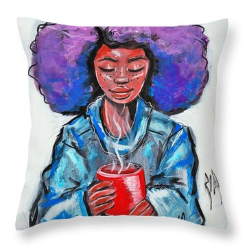 Hot Cocoa Throw Pillow