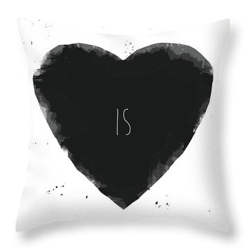 How Deep Is Your Love? Throw Pillow