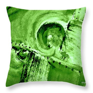 How Green Was My Valley Throw Pillow