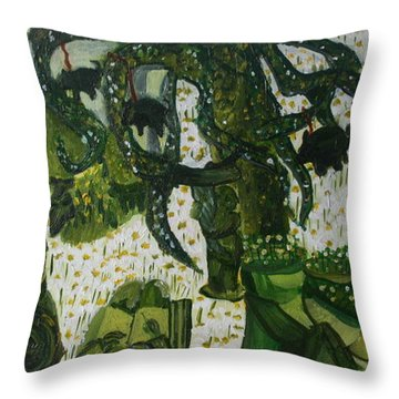 Humanity Waits Throw Pillow