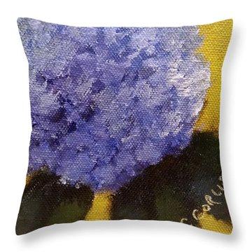 Hydrangea I Throw Pillow