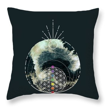 Throw Pillow featuring the digital art I Am by Bee-Bee Deigner