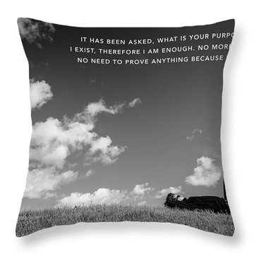 I Am Enough - Part 4 Throw Pillow