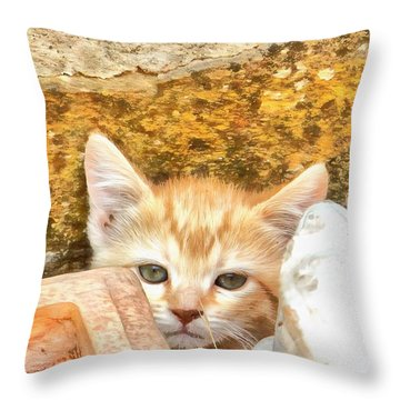 I Am Invisible Throw Pillow
