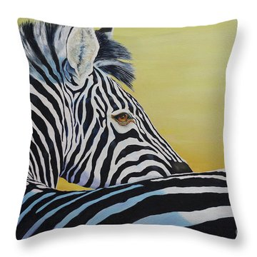 I Caught You Looking At Me Throw Pillow