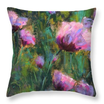 I Dream Of Purple Throw Pillow