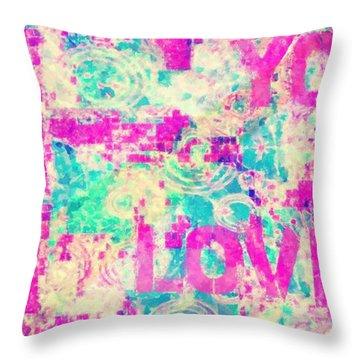 I Love You Jesus Throw Pillow