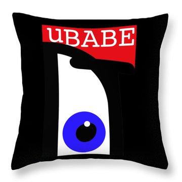 I See Ubabe Throw Pillow