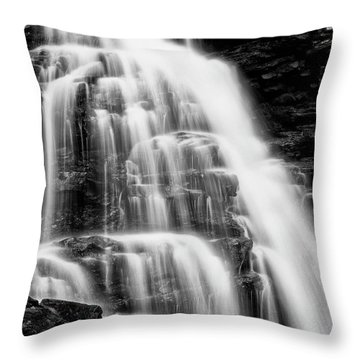 Throw Pillow featuring the photograph Icing by Russell Pugh
