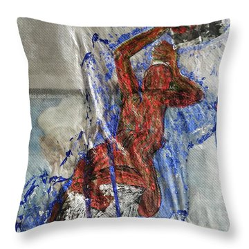 If We Kissed Throw Pillow