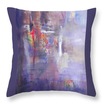 I'm Beginning To See Throw Pillow