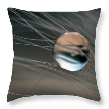 Throw Pillow featuring the photograph Imagine by Michelle Wermuth