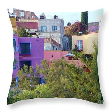 Throw Pillow featuring the photograph Imagine This by Rosanne Licciardi