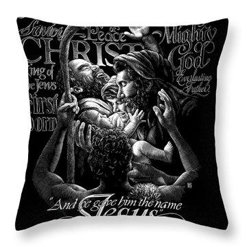 Immanuel Throw Pillow