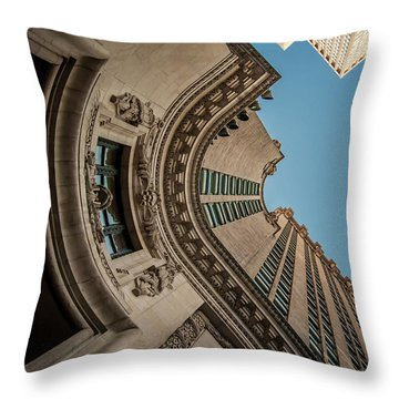 Immigrant Influence Throw Pillow