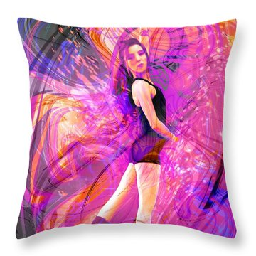 Immortal Memory Throw Pillow