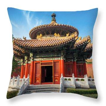Imperial Garden Throw Pillow